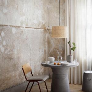 Broste Copenhagen Fiber spisebord - ø90 cm