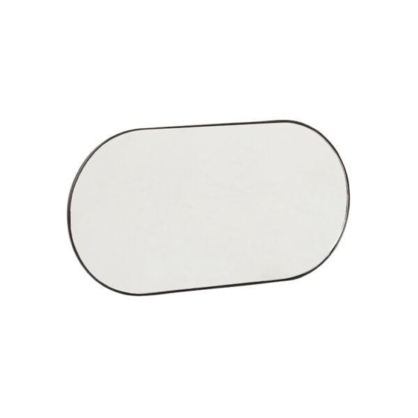 Hübsch knagerække med spejl metal 30 cm
