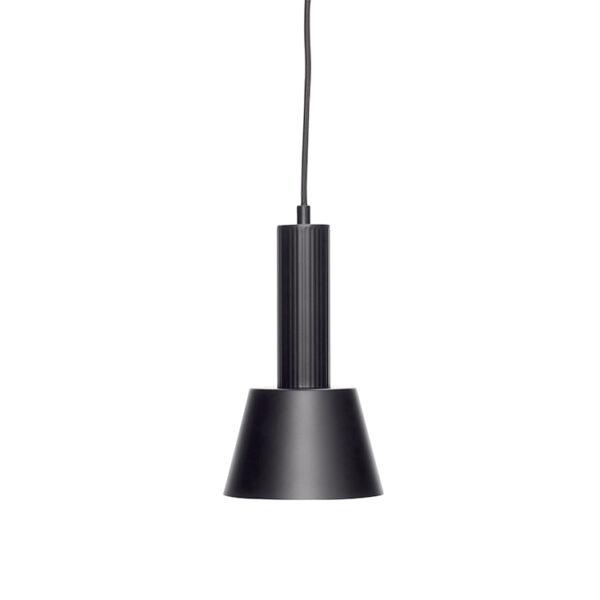 Hübsch loftlampe sort metal ø15 cm