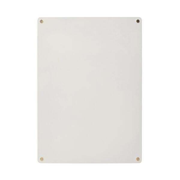 Hübsch opslagstavle magnetisk grå 30x42 cm