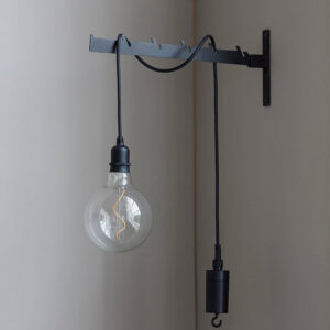 House Doctor Coso lampe i sort ø12,5 cm