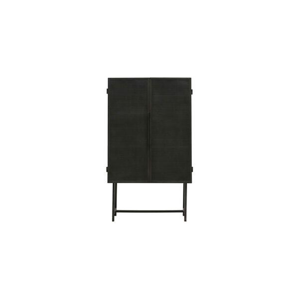 House Doctor Kabinet Collect Desk Jern vitrineskab i sort 135 cm