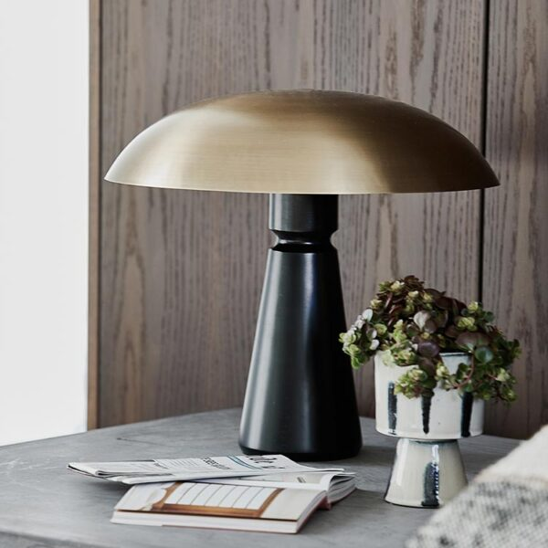 Thane bordlampe i sort