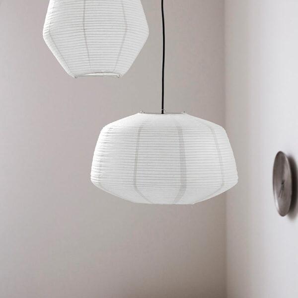 House Doctor Bidar lampeskærm hvid Ø50 cm