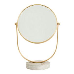 Nordal makeup spejl i messing 40 cm