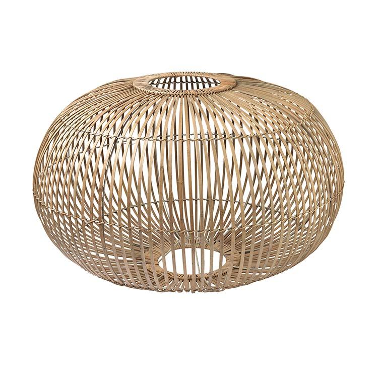 Image of   Broste Copenhagen Zep lampeskærm i bambus - Ø68 cm