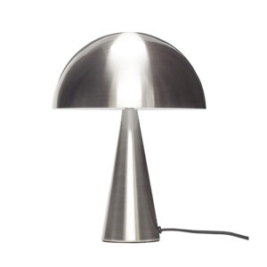 Hübsch bordlampe i nikkel finish