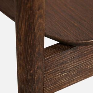 WOUD Pause spisebordsstol i smoked oak