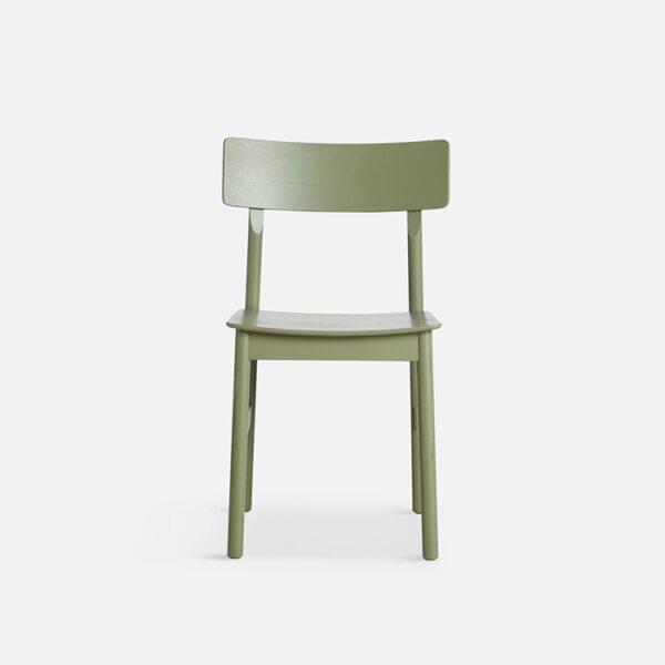 WOUD Pause spisebordsstol i grøn ask