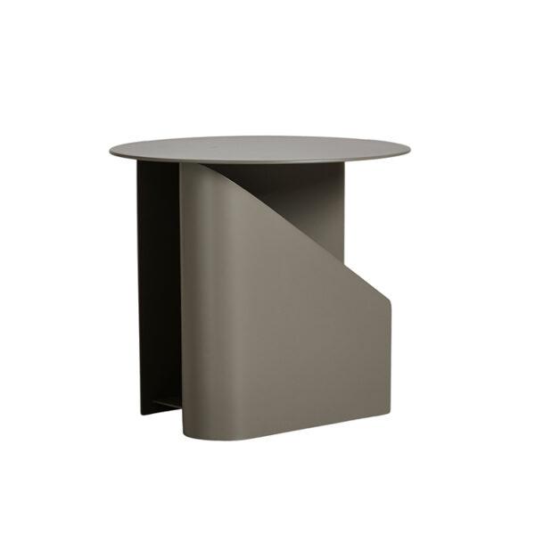 WOUD sentrum sidebord i grå metal