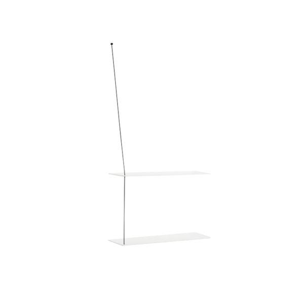 Woud stedge hylde i hvid eg 60 cm