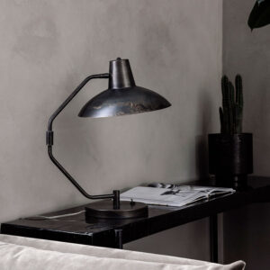 House Doctor desk bordlampe i antikbrun