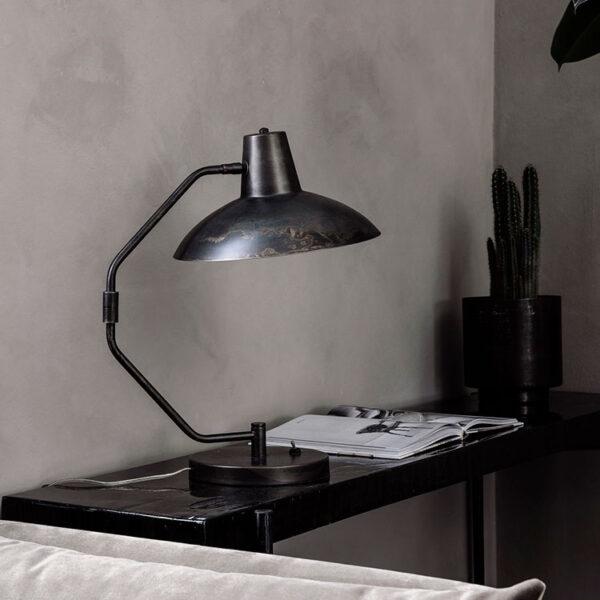 House Doctor desk bordlampe i antikbrun