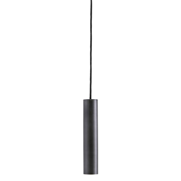 House Doctor pin lampe i antik sort 25 cm høj