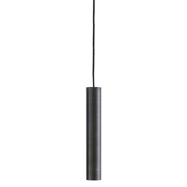 House Doctor pin lampe i antik sort 30 cm høj