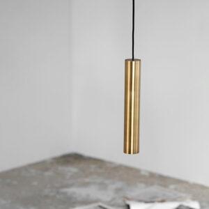 House Doctor pin lampe i messing 30 cm høj