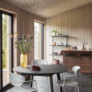Hübsch spisebordsstol i grå