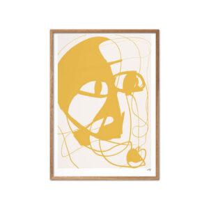 N. Atelier Soirée plakat med ramme