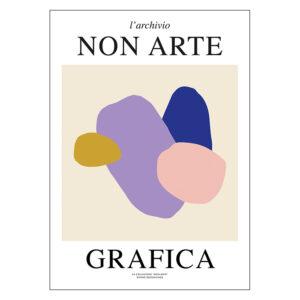 Nynne Rosenvinge Non Arte Grafica 01 uden ramme