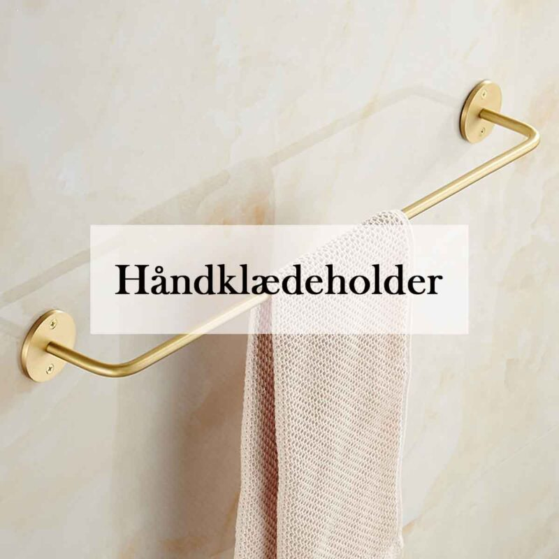 Håndklædeholder i høj kvalitet og flot design