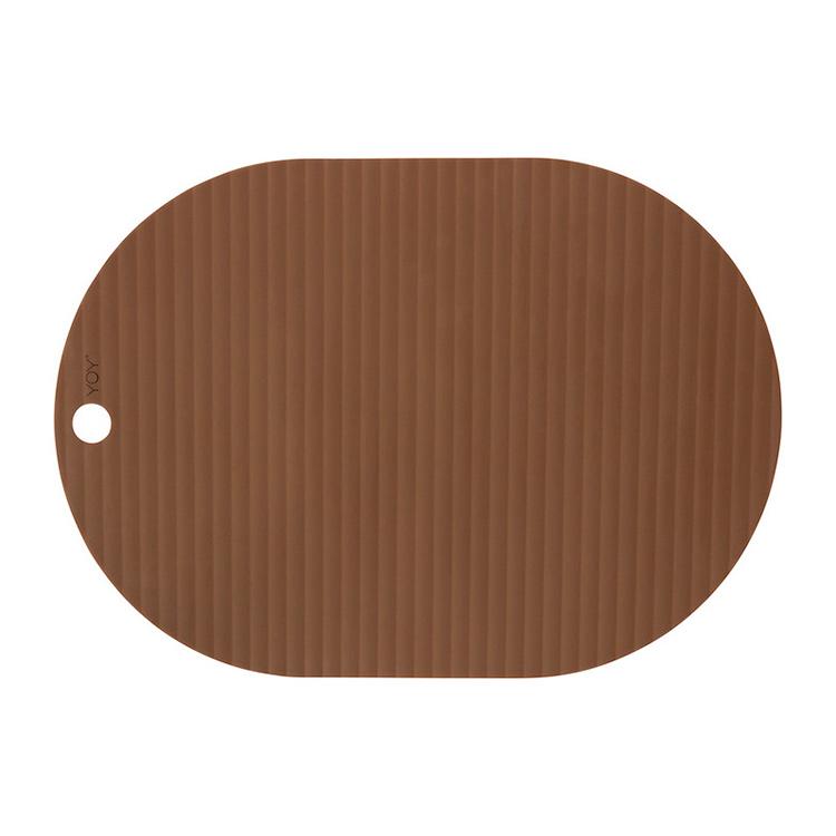 OYOY Ribbo dækkeservietter karamel – 2 stk.