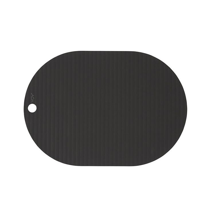 OYOY Ribbo dækkeservietter sort – 2 stk.