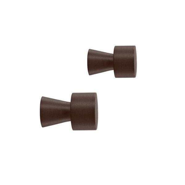OYOY Pin knage i bruneret messing. 2 stk.