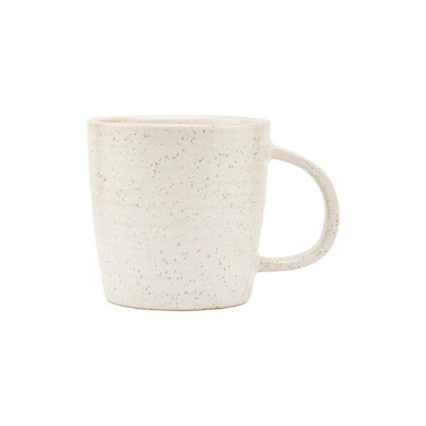 House Doctor Pion krus med hank i hvid porcelæn