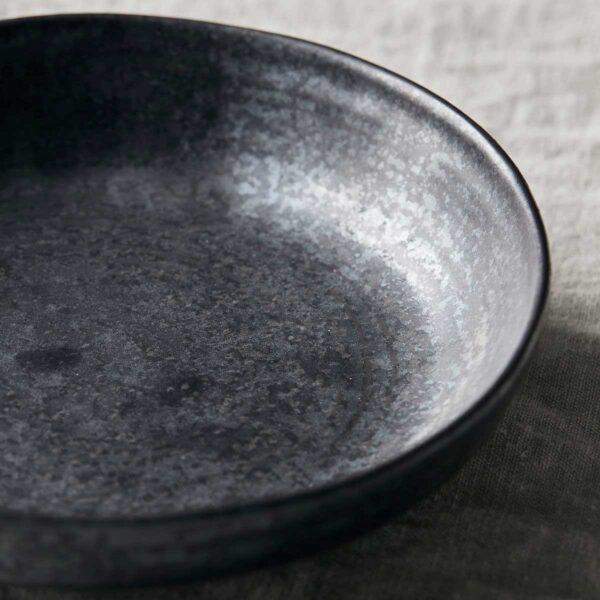 House Doctor Pion skål i sort porcelæn