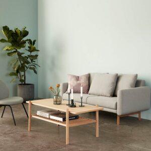 Hübsch sofabord i egetræ