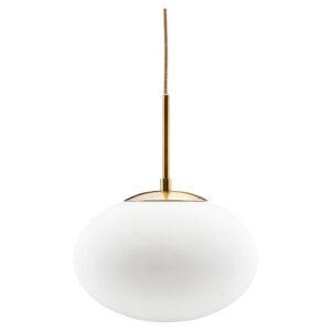 Opal pendel lampe i hvid Ø30 cm fra House Doctor