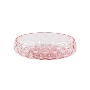 Kodanska danish summer skål pink glas Ø17,2 cm