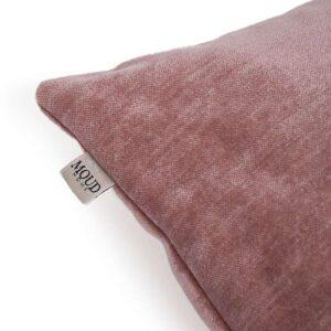 MOUD Home Perfect pude i rosa velour, 60x40 cm. Pude i højeste kvalitet.
