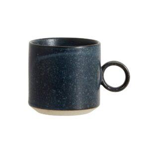 Nordal Grainy kop i mørkeblå finish
