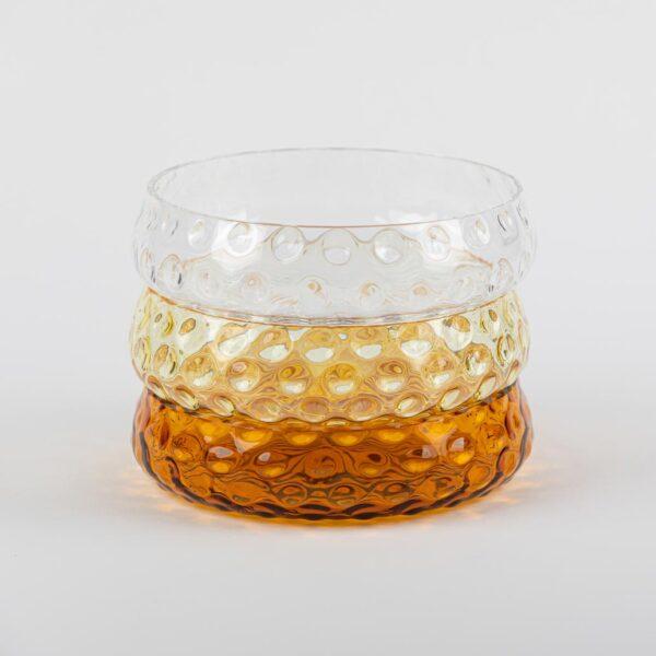 Kodanska danish summer skål klar glas Ø12,3 cm