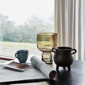 House Doctor Farida vase i grun glas