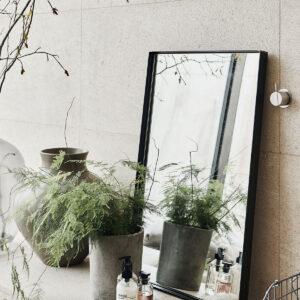 Raw spejl med ramme fra House Doctor med jernramme