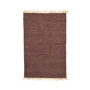 Rama tæppe fra House Doctor i brun