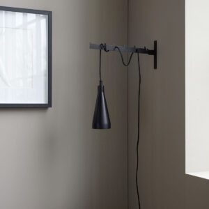 Jammu lampe fra House Doctor i sort