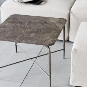 Square sofabord fra House Doctor i brun