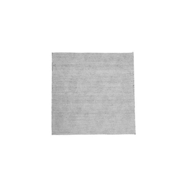 House Doctor mara gulvtæppe i grå jute, 180x180 cm