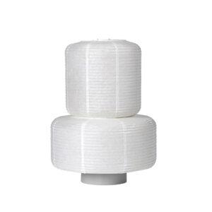 Broste Copenhagen William lampeskærm i hvid papir