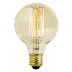 Nordal klar led pære vintage glow E27 30 watt