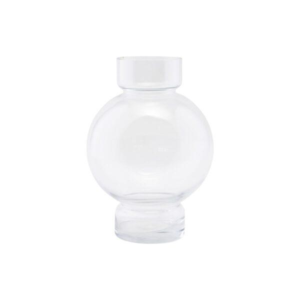 House Doctor bubble vase i klar glas, 25 cm høj