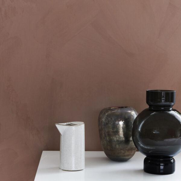 House Doctor Bubble vase i grå glas