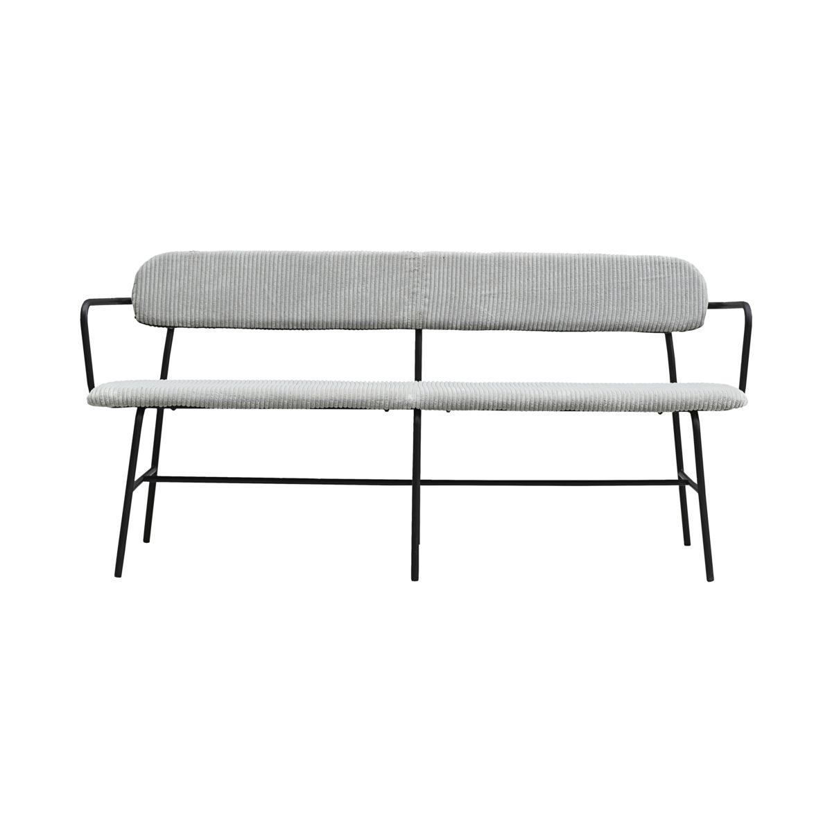 Billede af Bench, Classico, Light grey, Seat height: 46 cm