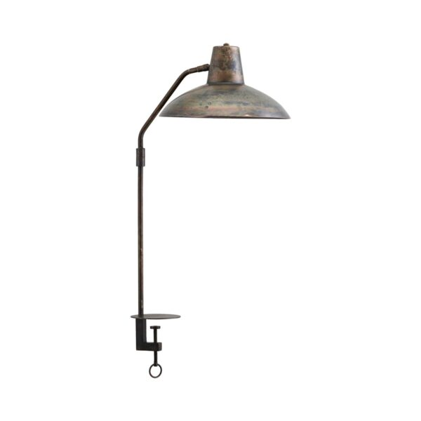 Desk bordlampe fra House Doctor i antik brun