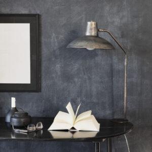 Desk bordlampe fra House Doctor i antik brun