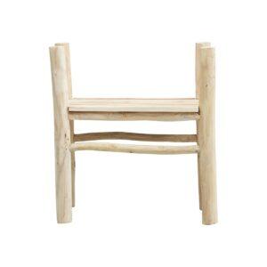 Teaky spisebordsstol fra House Doctor i natur