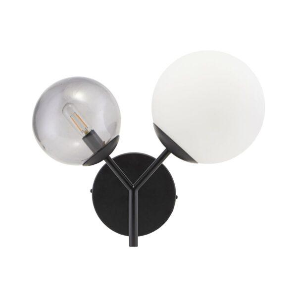 Twice væglampe fra House Doctor i sort